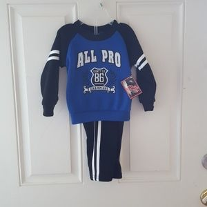 NWT sweater and pants 12m